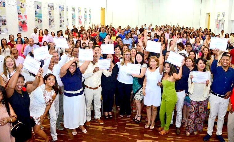 Distrito capacita a más de 400 docentes para potencializar estrategias de enseñanza