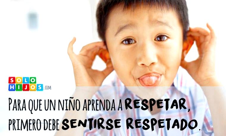 ¿Qué hacer cuando tu hijo te falta al respeto?