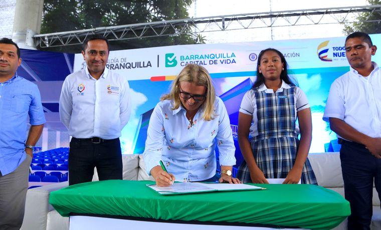 Colegio Rodolfo Llinás, una nueva infraestructura para el fortalecimiento de la educación
