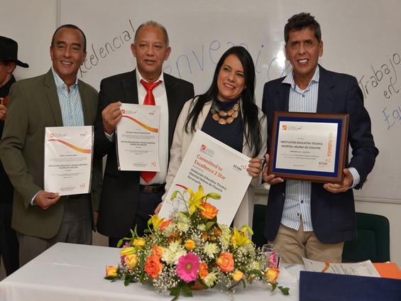 IED Helena de chauvin recibe certificación por desarrollo de procesos educativos