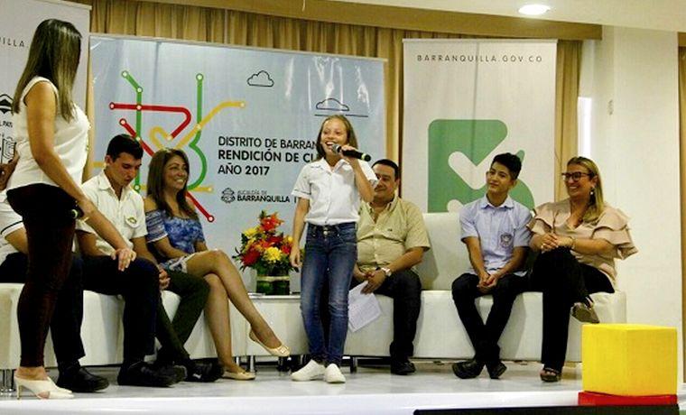 En Barranquilla, la educación pública está de primera