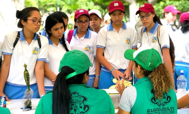En el Día Mundial del Medio Ambiente, estudiantes de Barranquilla se conectaron con la naturaleza