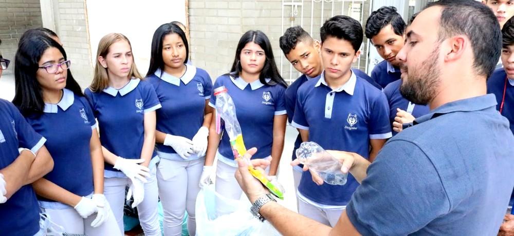 Estrategia ambiental sensibiliza a estudiantes de colegios oficiales de Barranquilla