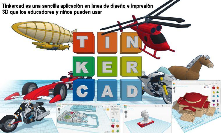 Tinkercar: Aplicación en línea de diseño e impresión 3D.