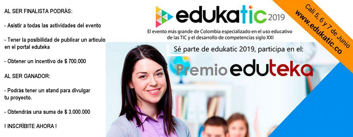 Premios Edukatic 2019 para docentes y directivos