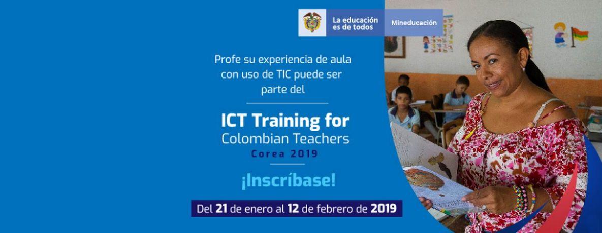 El Ministerio de Educación lanzó la convocatoria ICT Corea 2019