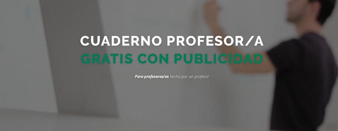 Cuaderno profesor digital