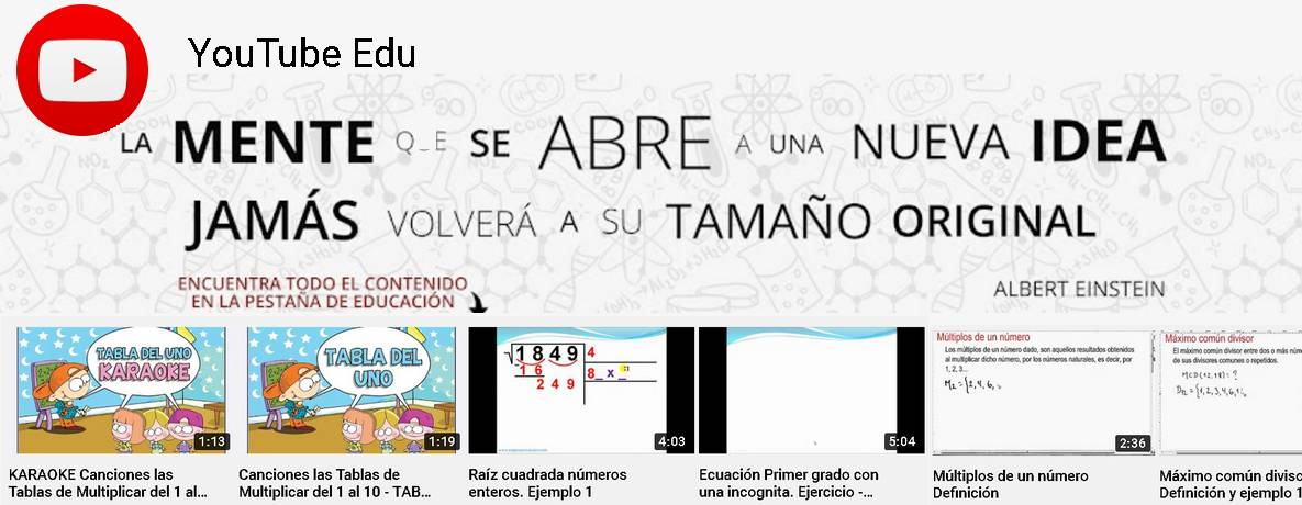 Canal educativo youtube en español