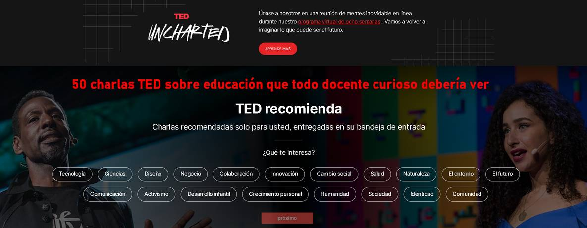 TED y TEDEd