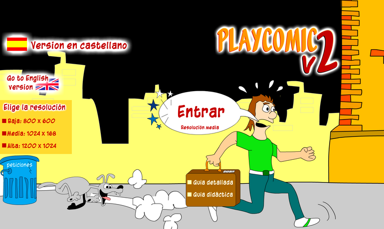 PlayComic v2