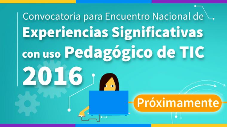Próximamente! Convocatoria IV Encuentro Nal Exp Sig TIC 2016