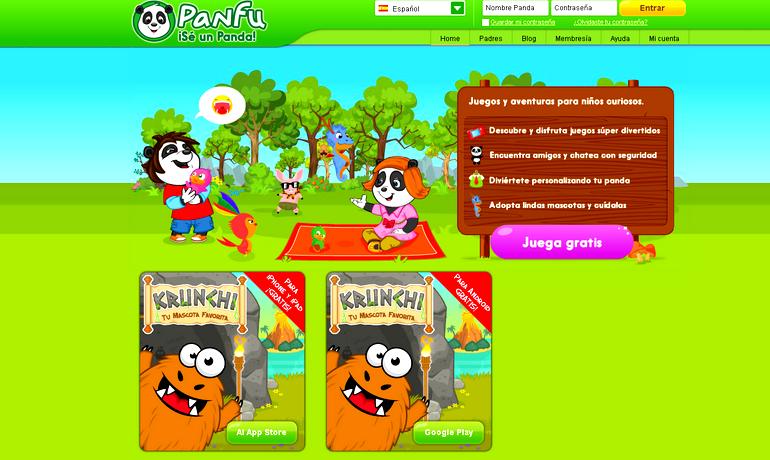 Panfu !Se un panda!